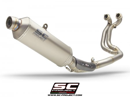 Rally Raid Exhaust by SC-Project