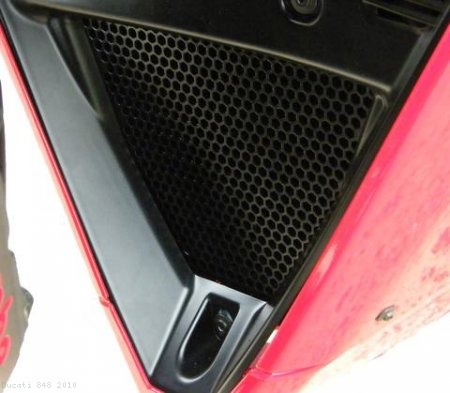 Oil Cooler Guard by Evotech Performance Ducati / 848 / 2010