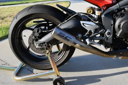 CR-T Exhaust by SC-Project Triumph / Daytona 675R / 2016