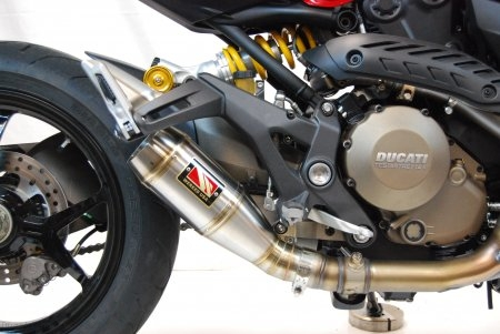 GP Slip-on Exhaust by Competition Werkes Ducati / Monster 821 / 2016