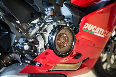 Clear Clutch Cover Oil Bath by Ducabike Ducati / 1299 Panigale S / 2017