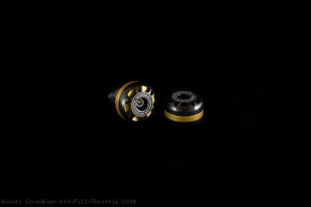 'DRILL' Style Bar Ends by AEM Factory Ducati / Scrambler 800 Full Throttle / 2019