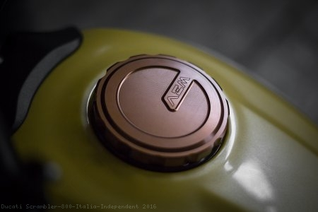 Gas Tank Cap 'SIX DAYS' by AEM Factory Ducati / Scrambler 800 Italia Independent / 2016