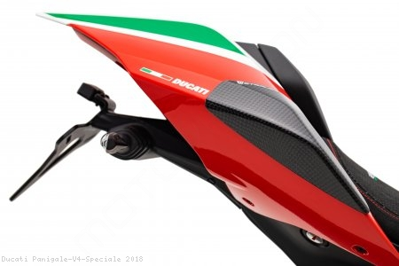 Carbon Fiber Street Version Tail Slider Kit by Strauss Carbon Ducati / Panigale V4 Speciale / 2018