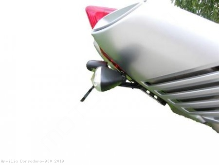 Tail Tidy Fender Eliminator by Evotech Performance Aprilia / Dorsoduro 900 / 2019