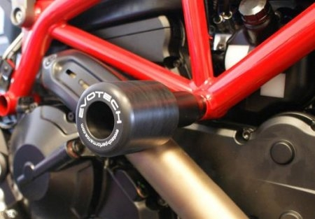 Frame Sliders by Evotech Performance Ducati / Hypermotard 821 / 2013