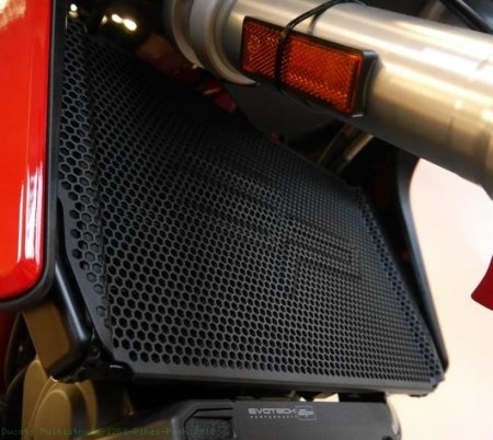 Radiator and Oil Cooler Guard by Evotech Performance Ducati / Multistrada 1260 Pikes Peak / 2018