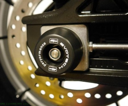 Rear Axle Sliders by Evotech Performance BMW / S1000RR HP4 / 2013