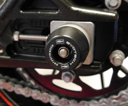 Rear Axle Sliders by Evotech Performance BMW / S1000RR / 2011