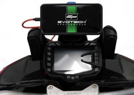 Quad Lock Mount by Evotech Performance Ducati / Multistrada 1200 S / 2017