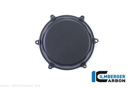 Carbon Fiber Clutch Cover by Ilmberger Carbon Ducati / 1199 Panigale R / 2014