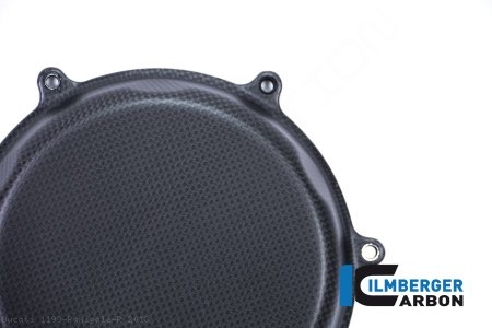 Carbon Fiber Clutch Cover by Ilmberger Carbon Ducati / 1199 Panigale R / 2013