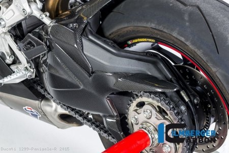 Carbon Fiber Swingarm Cover by Ilmberger Carbon Ducati / 1299 Panigale R / 2015