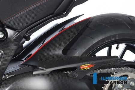 Carbon Fiber Rear Hugger by Ilmberger Carbon Ducati / Diavel / 2015