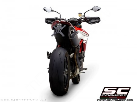 SC1-R Exhaust by SC-Project Ducati / Hypermotard 939 SP / 2016