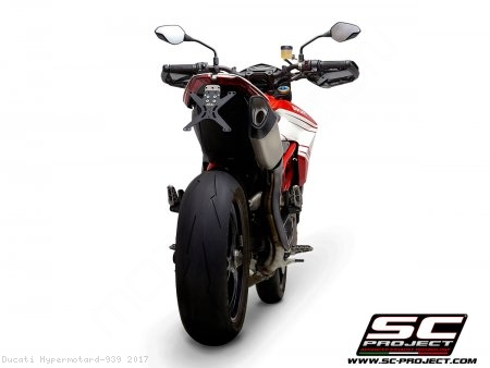 SC1-R Exhaust by SC-Project Ducati / Hypermotard 939 / 2017
