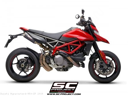 S1-Carbon Exhaust by SC-Project Ducati / Hypermotard 950 SP / 2019