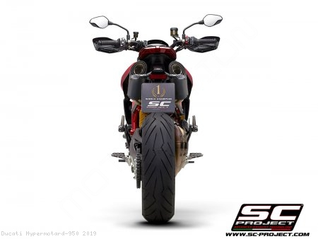 S1-Carbon Exhaust by SC-Project Ducati / Hypermotard 950 / 2019