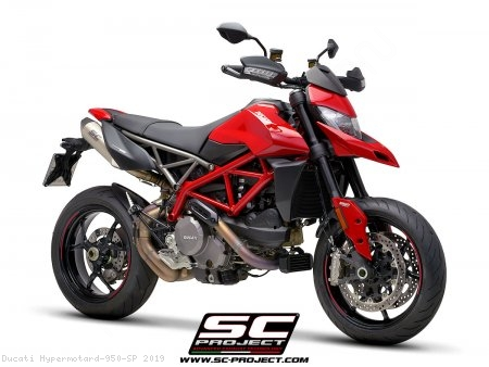 SC1-M Exhaust by SC-Project Ducati / Hypermotard 950 SP / 2019