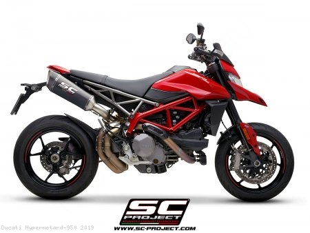SC1-R Exhaust by SC-Project Ducati / Hypermotard 950 / 2019