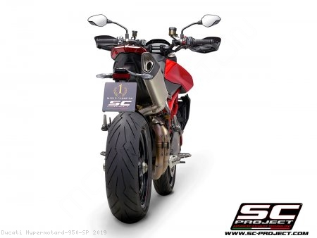 SC1-R Exhaust by SC-Project Ducati / Hypermotard 950 SP / 2019