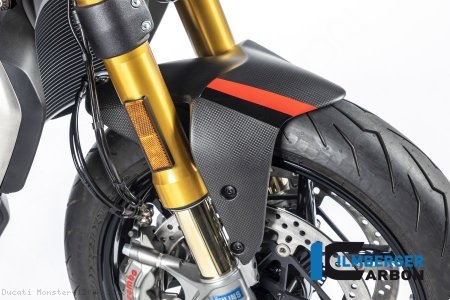 Carbon Fiber Front Fender by Ilmberger Carbon Ducati / Monster 1200R / 2018