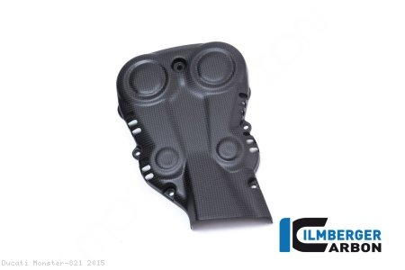 Carbon Fiber Vertical Belt Cover by Ilmberger Carbon Ducati / Monster 821 / 2015