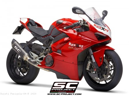 SC1-R Exhaust by SC-Project Ducati / Panigale V4 R / 2020