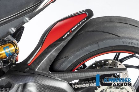 Carbon Fiber Rear Hugger by Ilmberger Carbon Ducati / Panigale V4 R / 2019