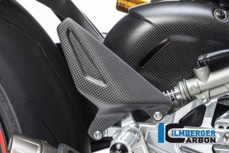 Carbon Fiber Heel Guard by Ilmberger Carbon Ducati / Panigale V4 S / 2019