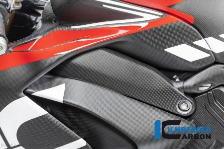 Carbon Fiber Left Side Frame Cover by Ilmberger Carbon Ducati / Panigale V4 S / 2019