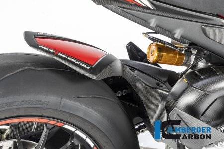 Carbon Fiber Rear Hugger by Ilmberger Carbon Ducati / Panigale V4 S / 2018