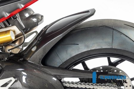 Carbon Fiber Rear Hugger by Ilmberger Carbon Ducati / Panigale V4 / 2018