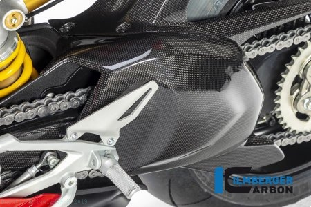 Carbon Fiber Swingarm Cover by Ilmberger Carbon Ducati / Panigale V4 S / 2019