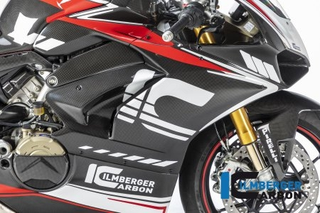 Carbon Fiber Right Side Fairing Panel by Ilmberger Carbon Ducati / Panigale V4 R / 2019