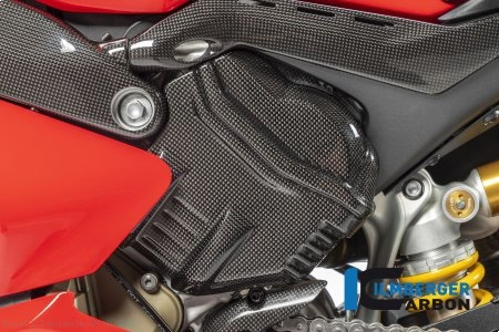 Carbon Fiber Left Side Cylinder Head Cover by Ilmberger Carbon Ducati / Panigale V4 R / 2020