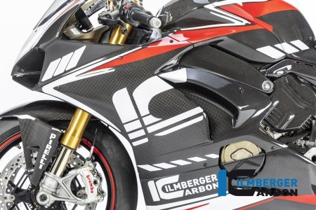 Carbon Fiber Left Side Fairing Panel by Ilmberger Carbon Ducati / Panigale V4 R / 2019