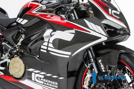 Carbon Fiber Right Side Fairing Panel by Ilmberger Carbon Ducati / Panigale V4 S / 2018