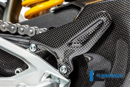 Carbon Fiber Heel Guard by Ilmberger Carbon Ducati / Panigale V4 S / 2018