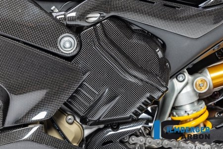 Carbon Fiber Left Side Cylinder Head Cover by Ilmberger Carbon Ducati / Panigale V4 S / 2018