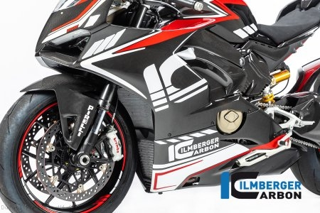 Carbon Fiber Left Side Fairing Panel by Ilmberger Carbon Ducati / Panigale V4 / 2018