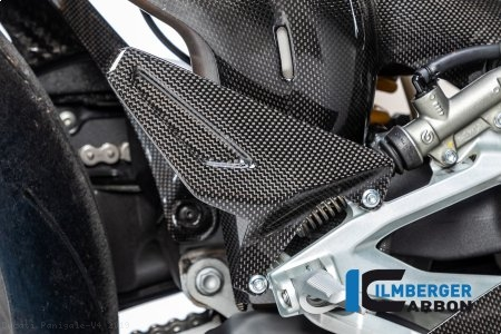 Carbon Fiber Heel Guard by Ilmberger Carbon Ducati / Panigale V4 / 2019