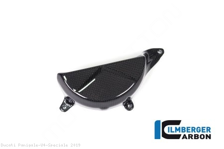 Carbon Fiber Alternator Cover by Ilmberger Carbon Ducati / Panigale V4 Speciale / 2019