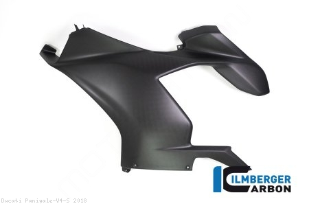 Carbon Fiber Left Side Fairing Panel by Ilmberger Carbon Ducati / Panigale V4 S / 2018
