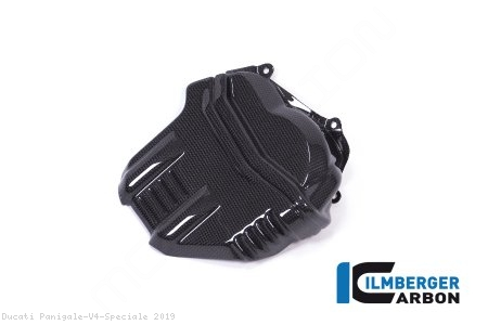 Carbon Fiber Left Side Cylinder Head Cover by Ilmberger Carbon Ducati / Panigale V4 Speciale / 2019