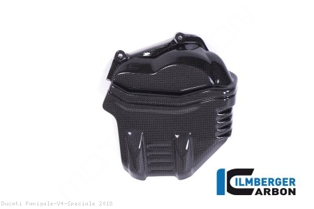 Carbon Fiber Left Side Cylinder Head Cover by Ilmberger Carbon Ducati / Panigale V4 Speciale / 2018