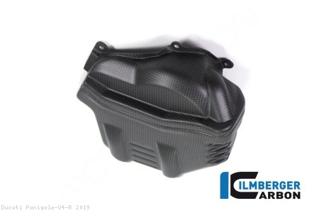 Carbon Fiber Left Side Cylinder Head Cover by Ilmberger Carbon Ducati / Panigale V4 R / 2019