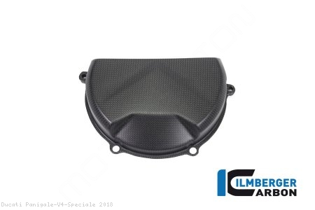 Carbon Fiber Clutch Case Cover by Ilmberger Carbon Ducati / Panigale V4 Speciale / 2018