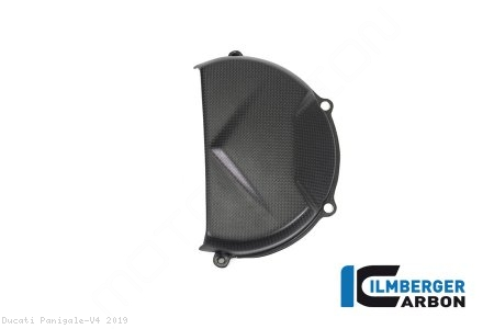 Carbon Fiber Clutch Case Cover by Ilmberger Carbon Ducati / Panigale V4 / 2019