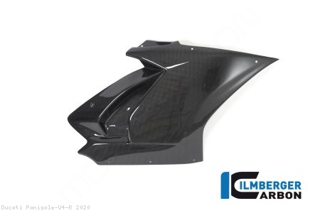 Carbon Fiber Right Side Fairing Panel by Ilmberger Carbon Ducati / Panigale V4 R / 2020